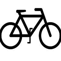 De fiets is een van de voorzieningen
