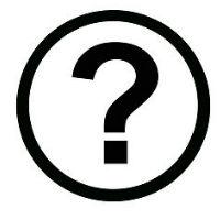 icoon vraagteken
